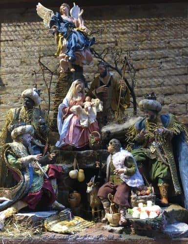 La Natività realizzata da un artigiano napoletano