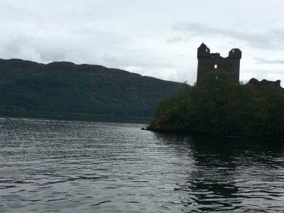 Le rovine del castello di Urquhart