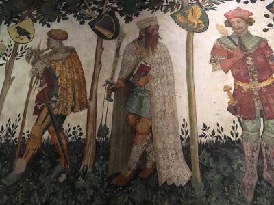 Affreschi tardogotici del Castello della Manta