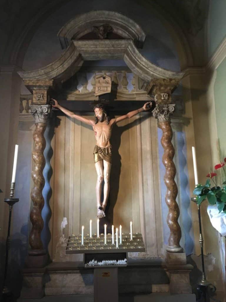 Il Cristo Parlante di Don Camillo a Brescello