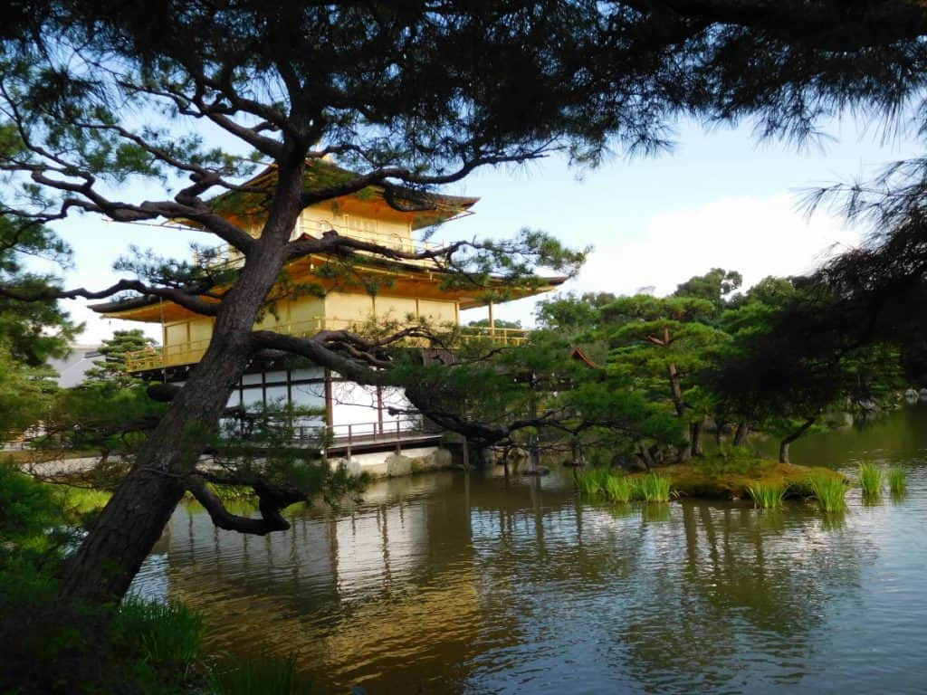 Kinkakuji o tempio d'oro di Kyoto
