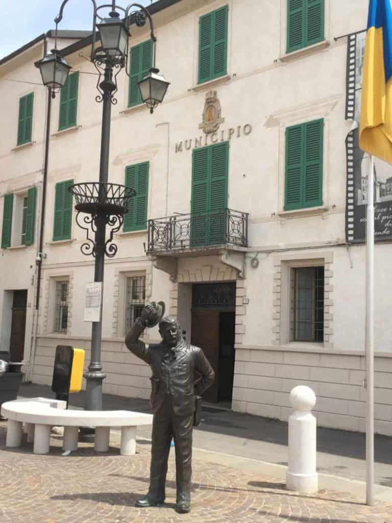 Municipio di Peppone a Brescello