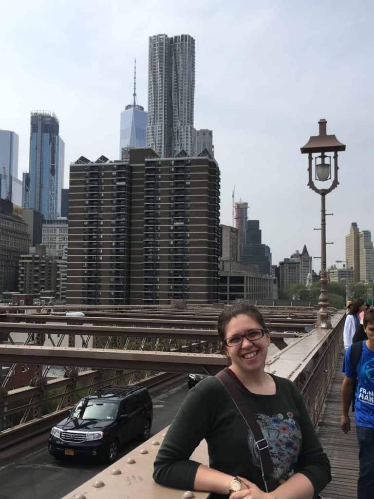 Ponte di Brooklyn: Panorama