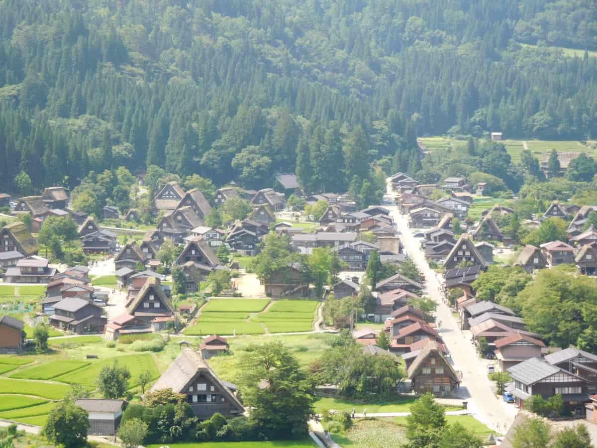 Shirakawa-go, il Paese dai tetti di paglia.