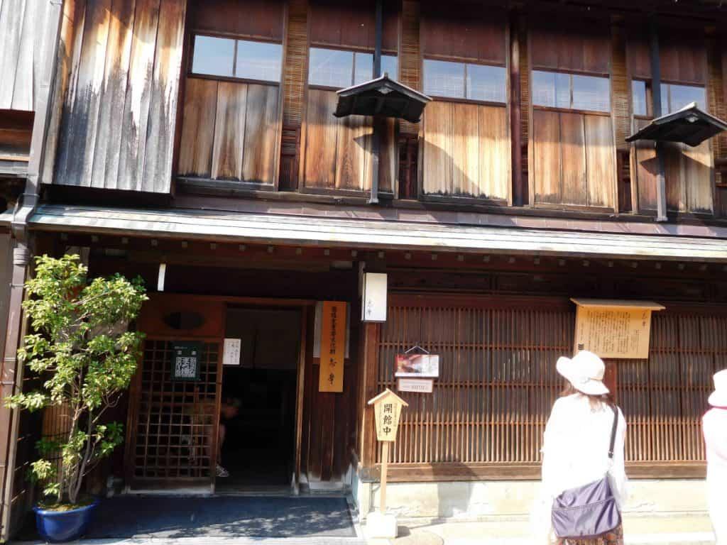 Geisha: casa da the