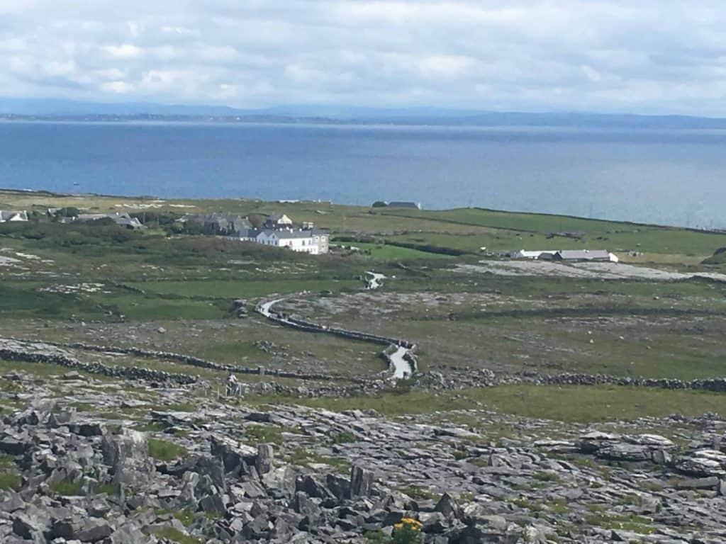 Inishmore nelle Isole Aran in Irlanda