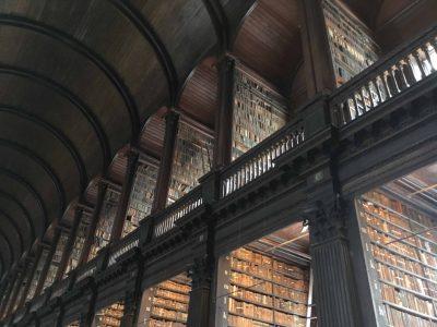 Passeggiando all'interno del Trinity College