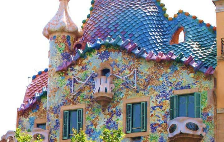 Casa Batlló: la natura vista con gli occhi di Gaudì