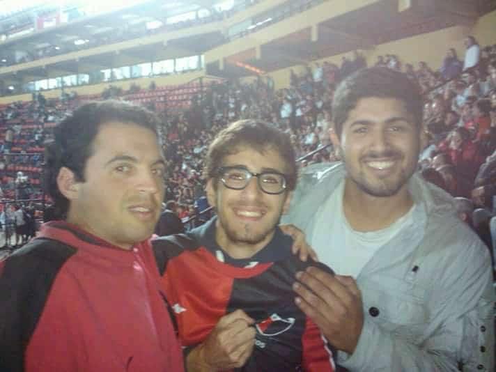 Allo stadio in Argentina