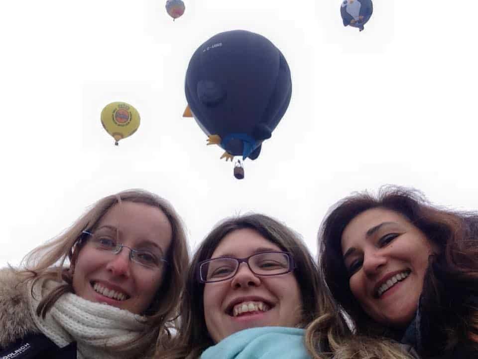 Sopra i cieli di Mondovì a bordo di una mongolfiera