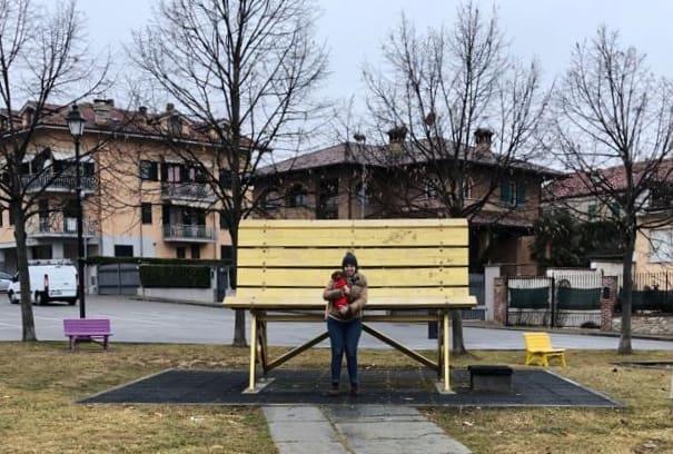Panchina Oro di Carrù Big Bench