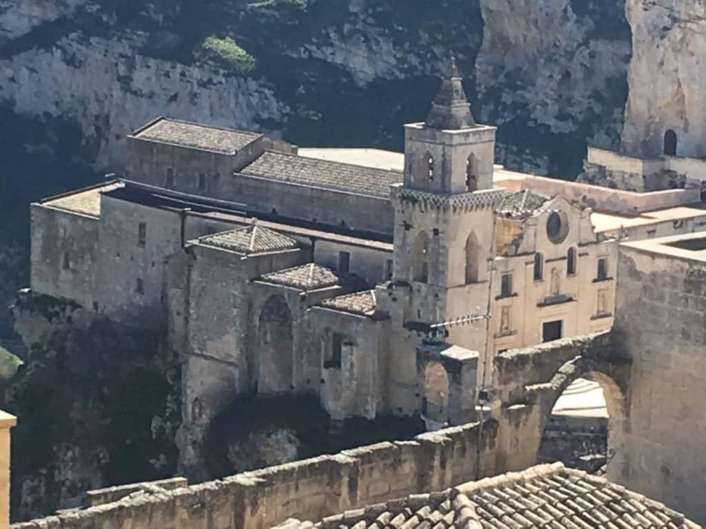 Chiesa principale dei Sassi di Matera