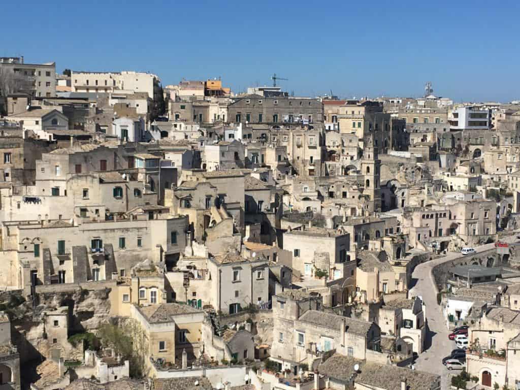 Rione Barisano nei Sassi di Matera