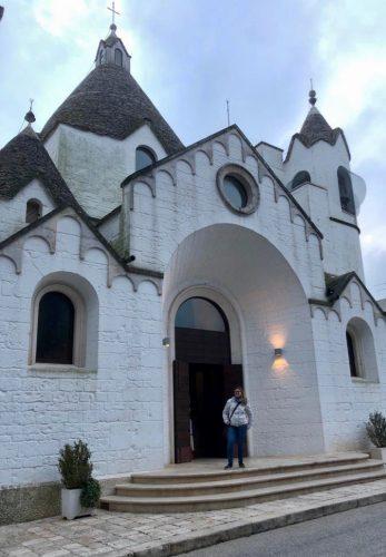 Chiesa trullo di san antonio di padova ad Alberobello