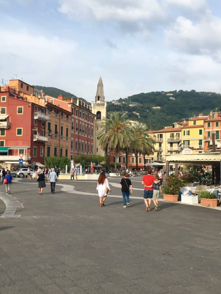 Lerici piazza del centro