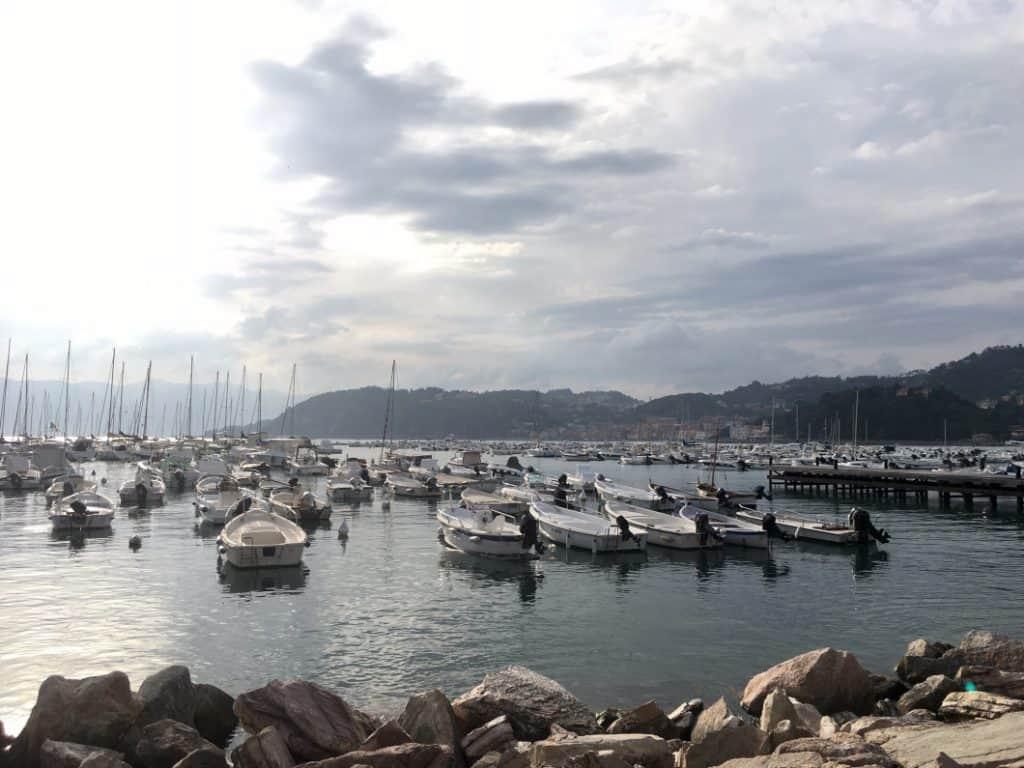 Il mare di Lerici in Liguria