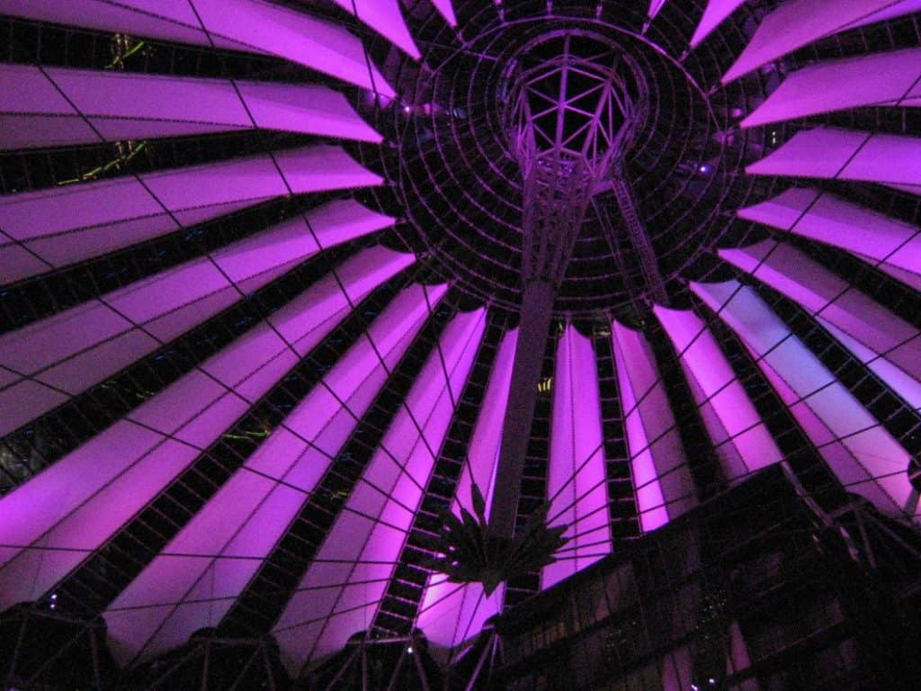 Il Sony Center By Night