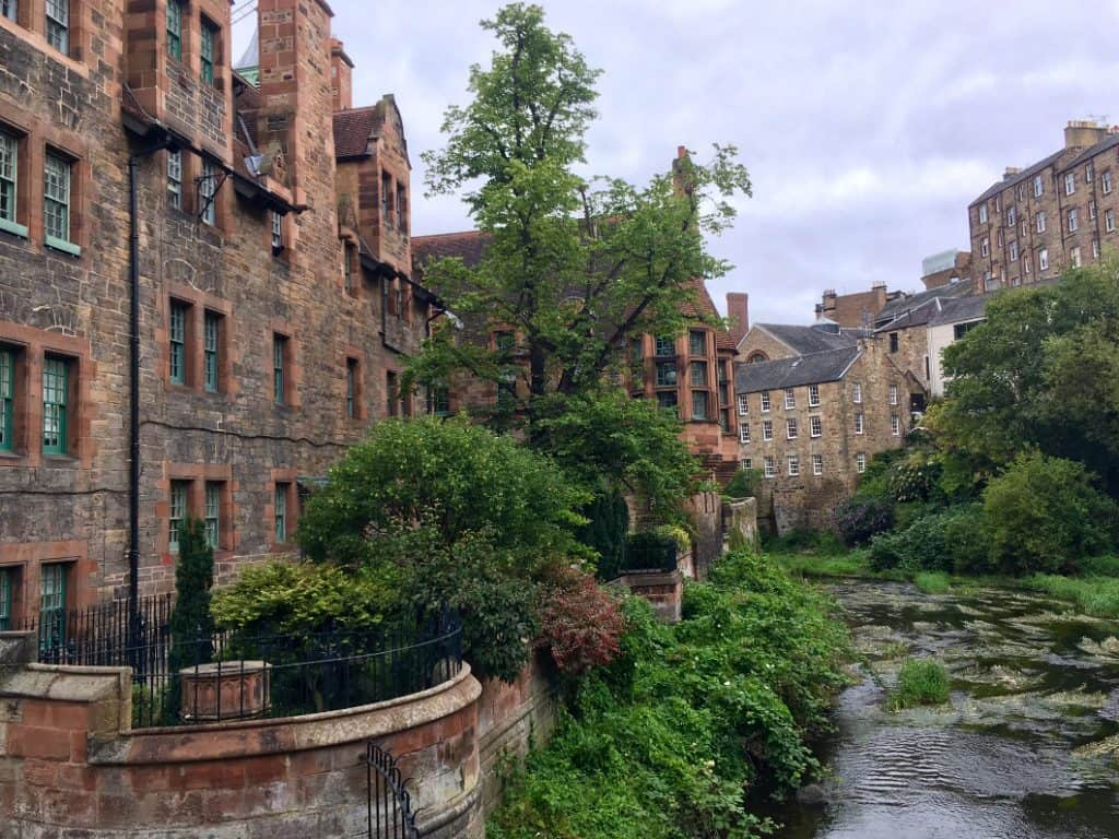 Il Dean Village a Edimburgo