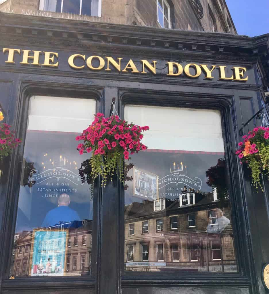 The Conan Doyle pub a Edimburgo
