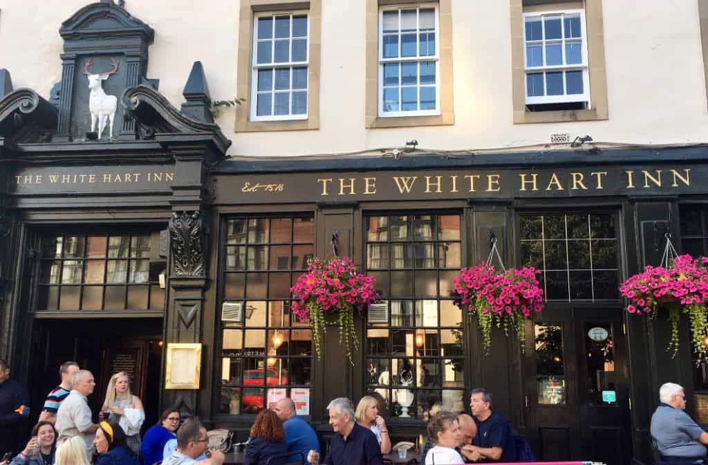 The white hart inn pub a Edimburgo