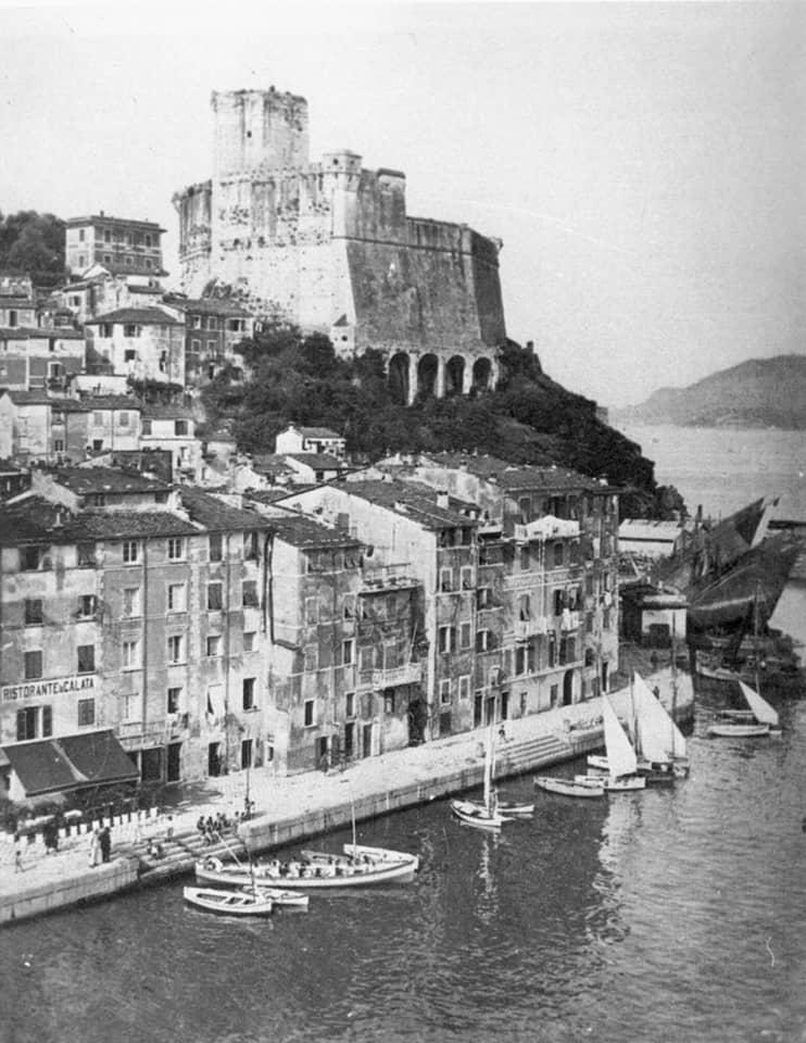 lerici foto antica del borgo