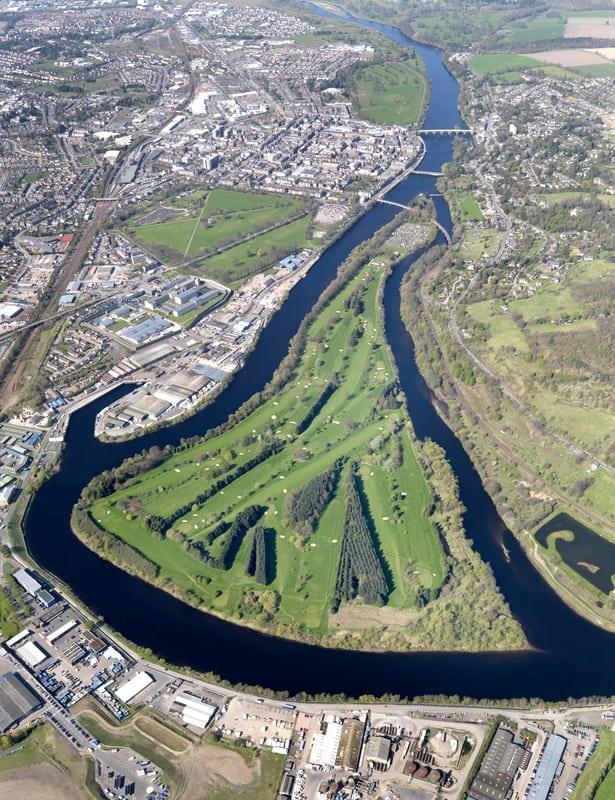 Il King James VI golf club moncreiffe island a perth in scozia