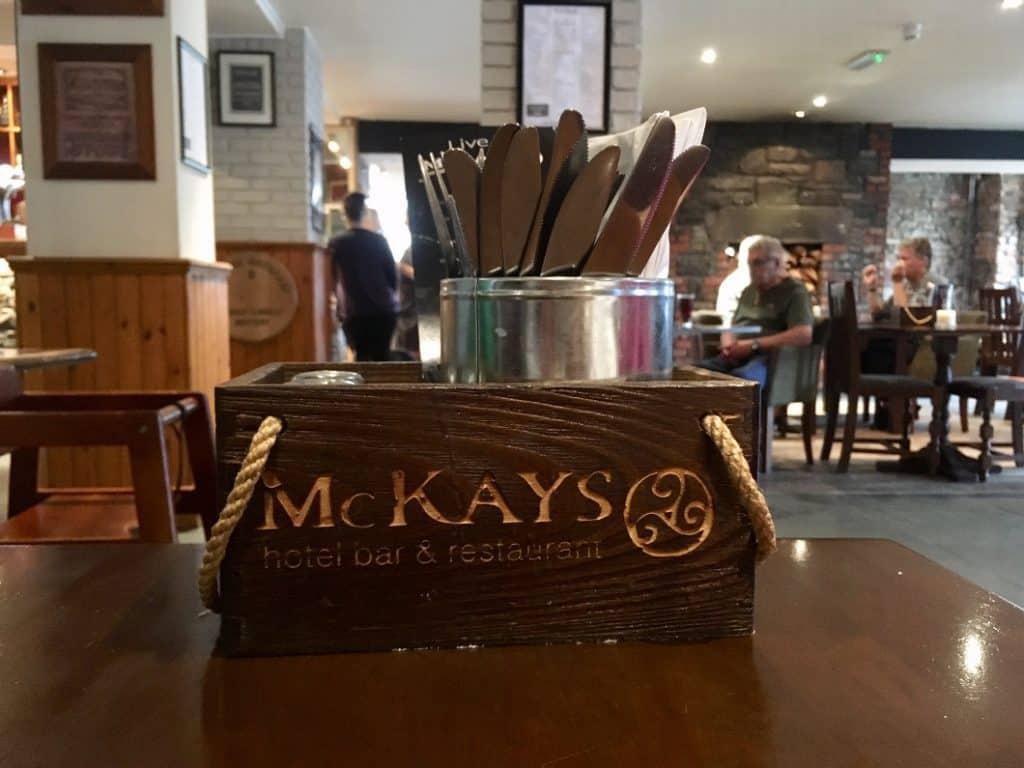 McKays il ristorante a Pitlochry