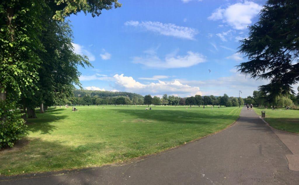South Inch Park di Perth in Scozia